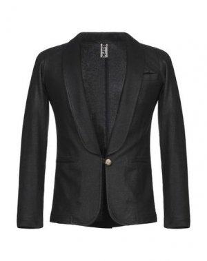 Пиджак BARK. Цвет: стальной серый
