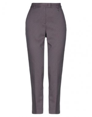 Повседневные брюки BARBARA LEBEK. Цвет: красно-коричневый