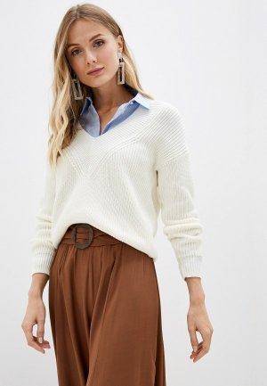 Пуловер Lezzarine. Цвет: белый