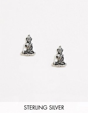 Серебряные серьги-гвоздики -Серебряный Kingsley Ryan