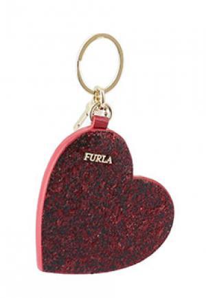 Брелок FURLA. Цвет: бордовый