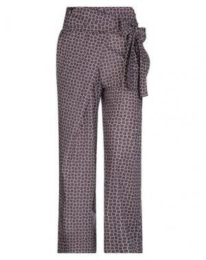 Повседневные брюки LA FABRIQUE. Цвет: темно-коричневый