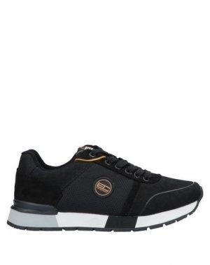 Кеды и кроссовки ENRICO COVERI. Цвет: черный