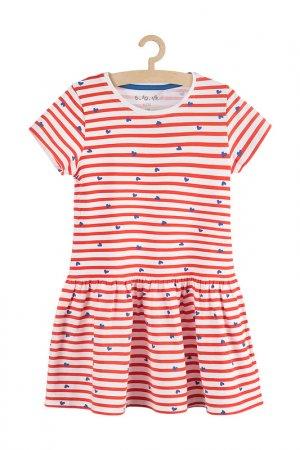 Платье для девочек 5.10.15.. Цвет: красный