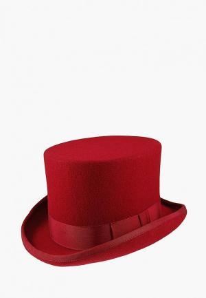 Шляпа Christys. Цвет: красный