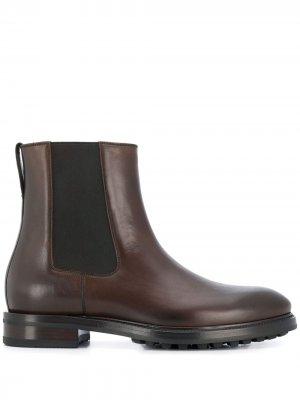 Ботинки с эластичными вставками Tom Ford. Цвет: коричневый