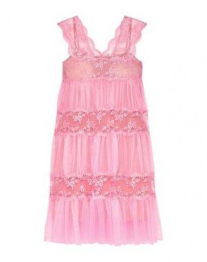 Короткое платье CHRISTOPHER KANE. Цвет: розовый