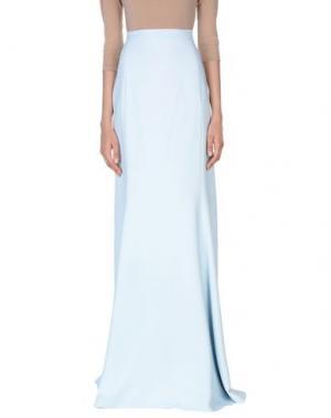 Длинная юбка ANTONIO BERARDI. Цвет: небесно-голубой