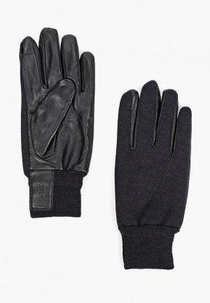 Перчатки United Colors of Benetton. Цвет: черный