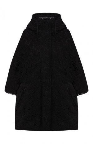 Утепленная куртка Valentino. Цвет: чёрный