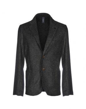 Пиджак ERO. Цвет: стальной серый
