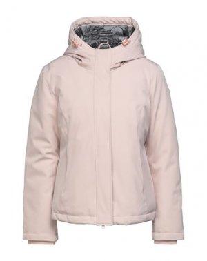 Куртка CENSURED. Цвет: светло-розовый