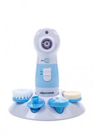 Прибор для очищения лица Gezatone Super Wet Cleaner PRO 4 в 1