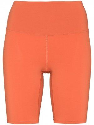 Облегающие шорты Core MANOLA. Цвет: оранжевый