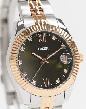 Наручные часы с браслетом из разных металлов ES4948-Многоцветный Fossil