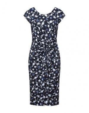 Платье до колена LAURÈL. Цвет: темно-синий