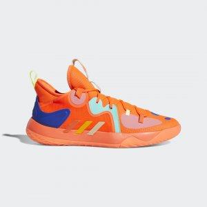 Баскетбольные кроссовки Harden Stepback 2 Performance adidas. Цвет: желтый