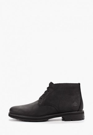 Ботинки Timberland Windbucks Chukka WP BLACK. Цвет: черный