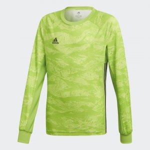 Вратарский лонгслив AdiPro 19 Performance adidas. Цвет: зеленый