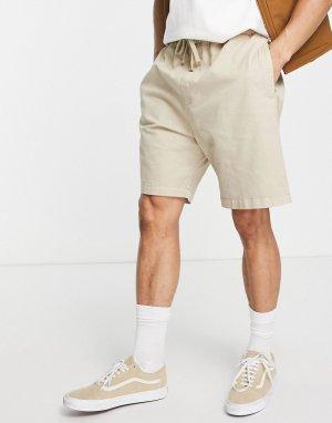 Бежевые шорты -Нейтральный Carhartt WIP