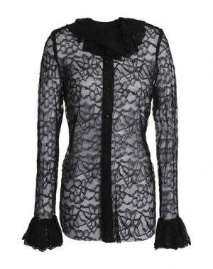 Pубашка ANNA SUI. Цвет: черный