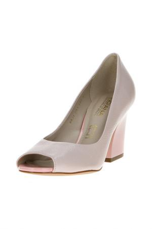 Туфли открытые Indiana. Цвет: pale rose ma (роз)