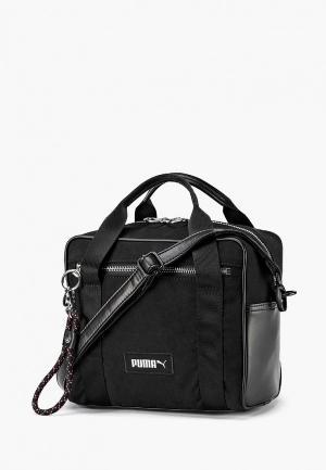 Сумка PUMA Prime Premium Mini Duffle. Цвет: черный
