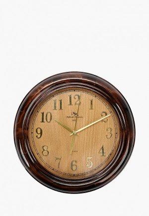 Часы настенные Михайлъ Москвинъ. Цвет: коричневый