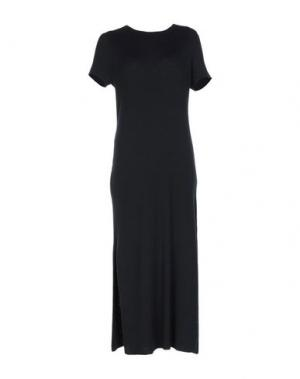 Короткое платье 360SWEATER. Цвет: черный