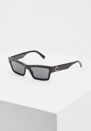 Очки солнцезащитные Versace VE4362 GB1/87. Цвет: черный
