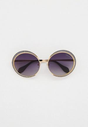 Очки солнцезащитные Blumarine Blumarine-121-300F. Цвет: золотой