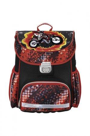 Ранец Hama. Цвет: красный