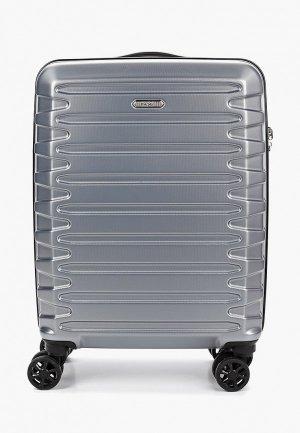 Чемодан Verage Cabin size. Цвет: серый