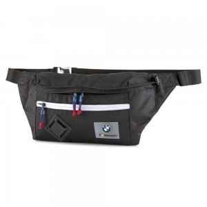 Сумка на пояс BMW M MTSP Waist Bag PUMA. Цвет: черный