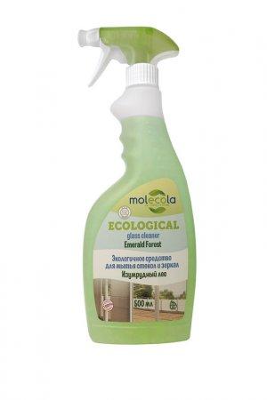 Средствово для мытья стекол MOLECOLA. Цвет: белый, зеленый