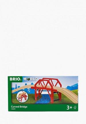 Конструктор Brio Изогнутый мост, 4 элемента. Цвет: разноцветный