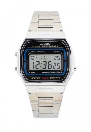 Часы Casio Collection A-164WA-1. Цвет: серебряный