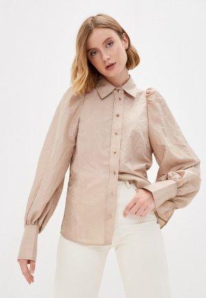 Блуза InWear. Цвет: бежевый