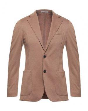 Пиджак 0909 FATTO IN ITALIA. Цвет: верблюжий
