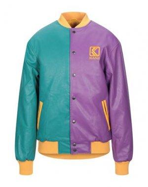 Куртка KARL KANI. Цвет: фиолетовый