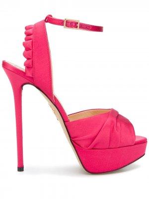 Босоножки Serena Charlotte Olympia. Цвет: розовый