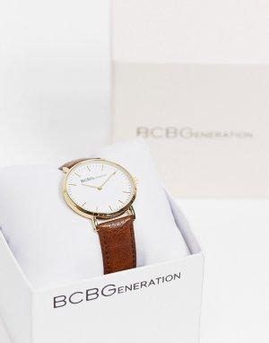 Часы с коричневым ремешком BCBG Generation-Коричневый цвет MaxAzria