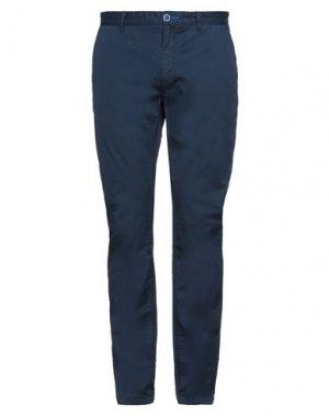 Повседневные брюки FRED MELLO. Цвет: темно-синий