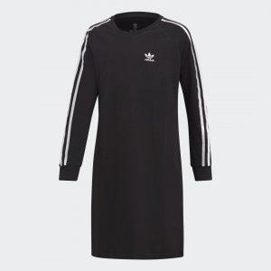 Платье 3-Stripes Originals adidas. Цвет: черный