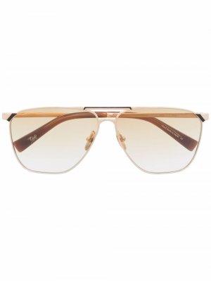 Солнцезащитные очки-авиаторы Inheritance EQUE.M. Цвет: золотистый