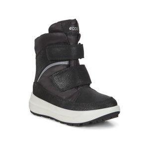 Ботинки высокие SOLICE K ECCO. Цвет: черный