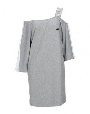 Короткое платье DIMENSIONE DANZA. Цвет: светло-серый