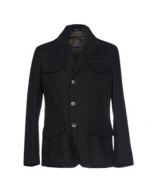 Легкое пальто HARRY & SONS. Цвет: черный