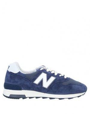 Низкие кеды и кроссовки NEW BALANCE. Цвет: темно-синий