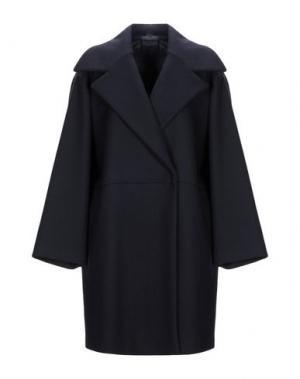 Пальто GILMAR. Цвет: темно-синий